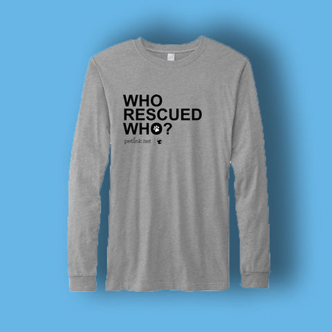 Rescue Pet Long-Sleeve (2 designs available)