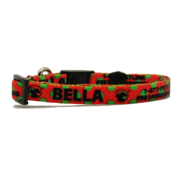 Winter Holiday Break-Away Cat Collars (3 NEW styles available)