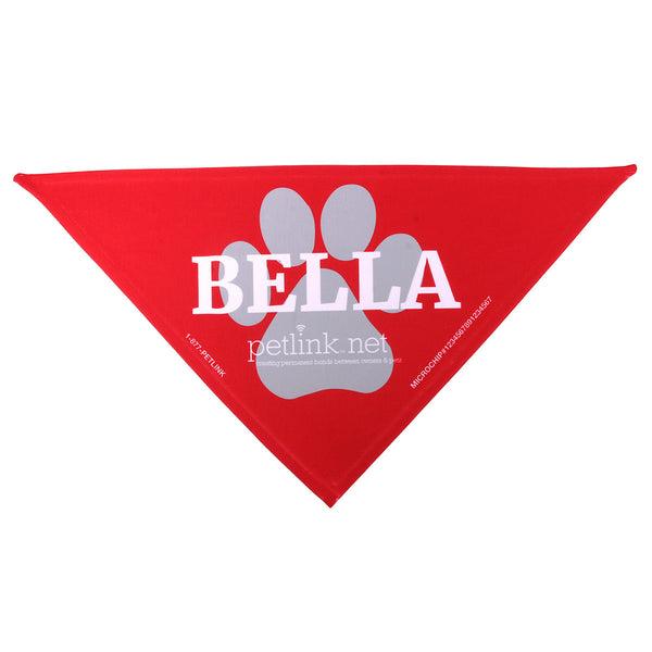 Personalized PetLink Bandanas