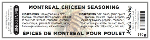 Montreal Chicken Seasoning