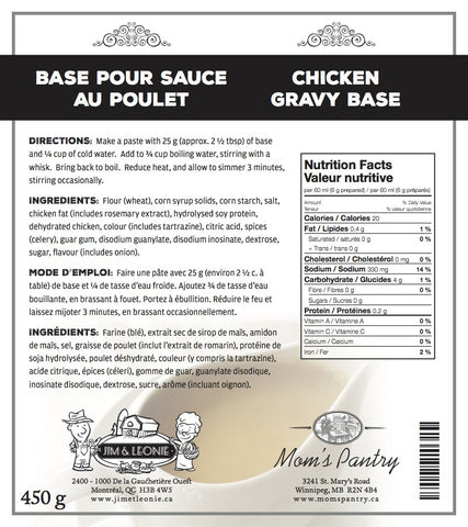 Chicken Gravy Base