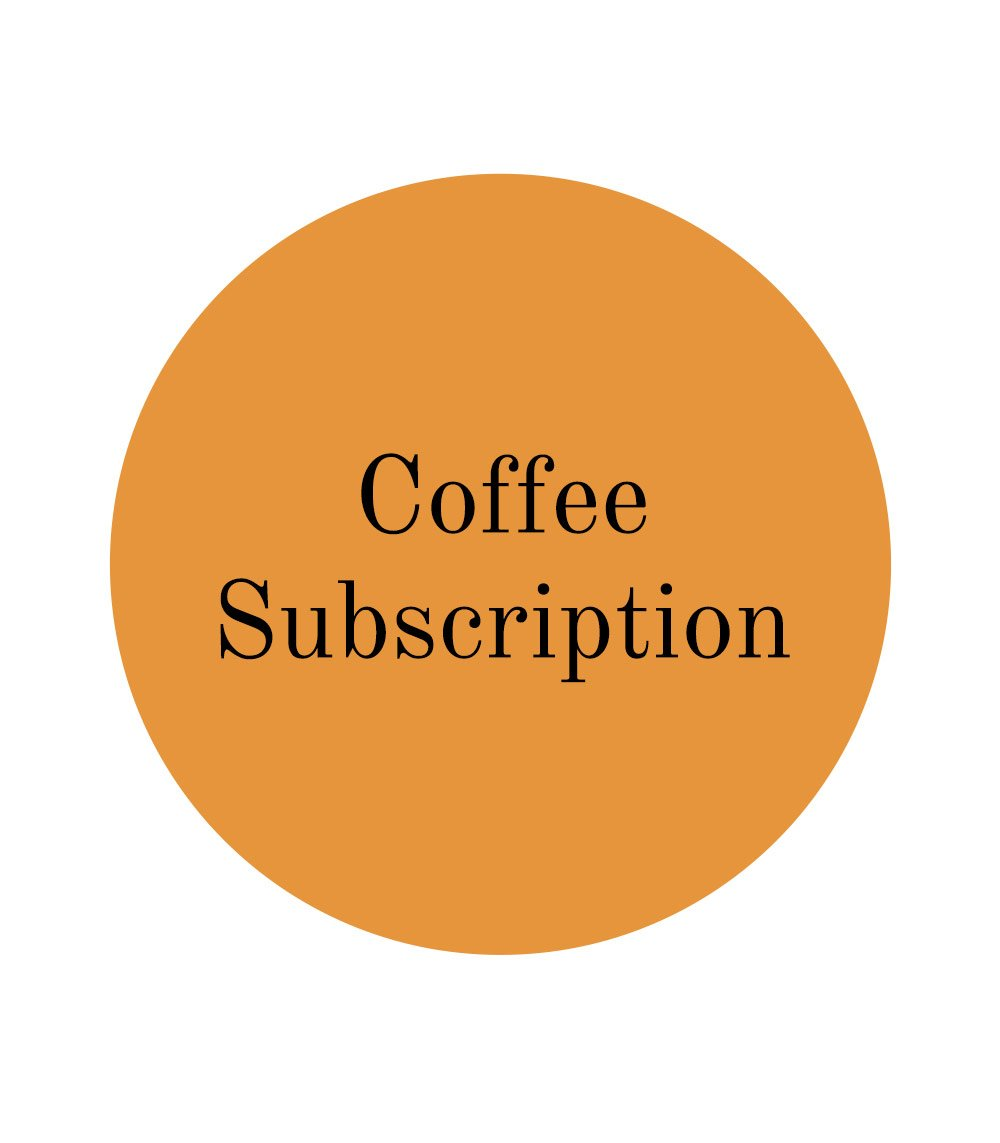 Coffee Subscription - Barista's Delight (espresso focused)