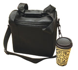 BEVC6 - Six-Cup Coffee & Beverage Delivery Bag (Packed 4 Per Case -- Unit Price: $19.99)
