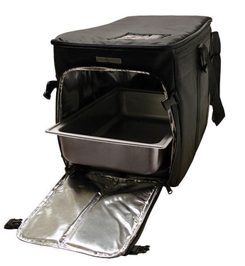 CLGPCSX - Full Size Heavy Duty Multi Pan Carrier/Restaurant Delivery Bag, Top & Side Loading (Packed 2 Per Case -- Unit Price: $63.99)