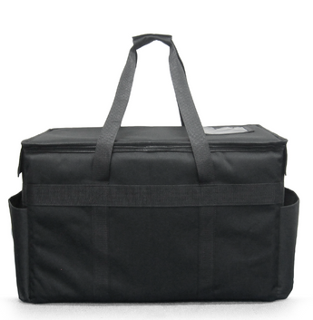 LGRDX - Large Velcro Closure Hot or Cold Restaurant Delivery Bag (Price Delivered Packed 2 Per Case -- Unit Price: $59.99)