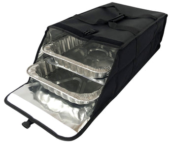 LP3X - Full Size Catering Multi-Pan Carrier Bag, Heavy Duty Lining (Price Delivered Packed 2 Per Case -- Unit Price: $43.99
