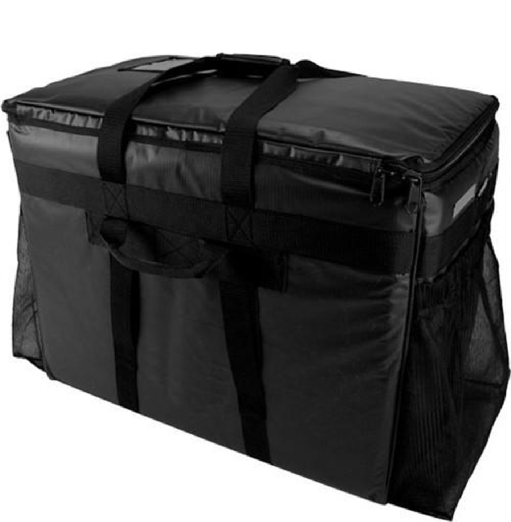 Restaurant Delivery Bag - Large - Black