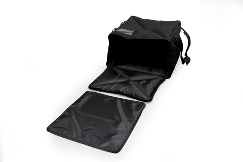 "OH-PF7/8 - Pizza Bag, Rigid Support System, Large Capacity for 14"" or 16"" Pizzas, Side Loading, Black (Packed 2 Per Case -- Unit Price: $42.99)"