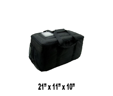 OH-SMSBS - Small Hot/Cold Insulated Clam Shells or Food Delivery Bag (Packed 2 Per Case -- Unit Price: $43.99)