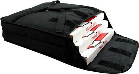 PV2-14 - STAIN RESISTANT PIZZA DELIVERY BAG (BLACK)