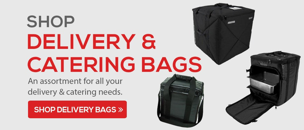 catering and delivery bags