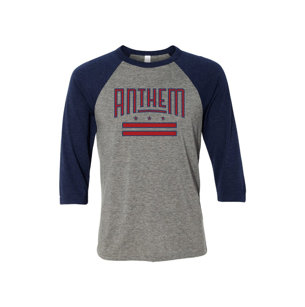 The Anthem DC Flag Baseball Tee