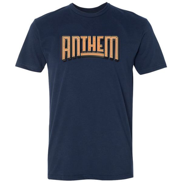 *NEW* The Anthem Neon Logo Tee - Orange