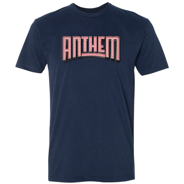 The Anthem Neon Logo Tee - Pink