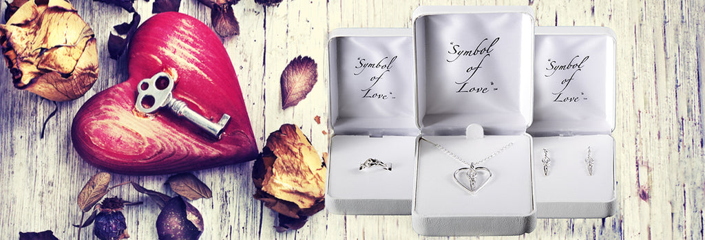 Love Necklace, Ring & Bangle