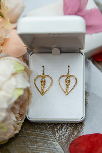 Soulmate Heart Earrings