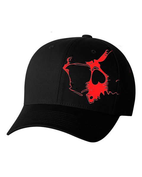 Red Skully Hat