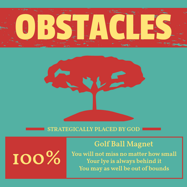 Obstacles - HFM Golf