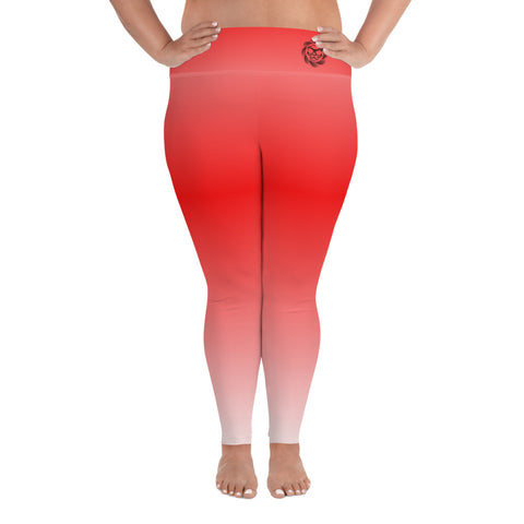 Fade to Red PS - Leggings