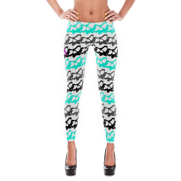 Skully Wave -  Leggings