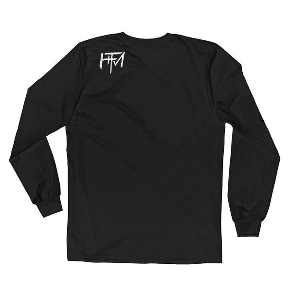 Skully Legend Silver - Long Sleeve Guys T