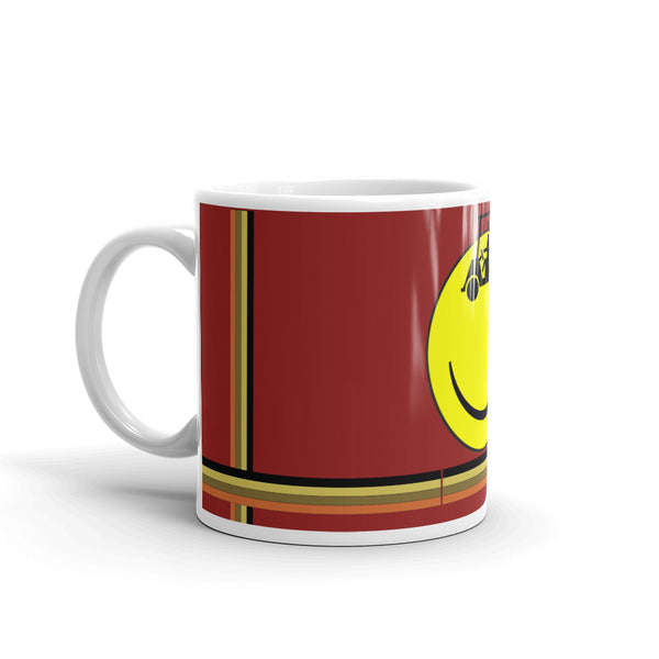 Old Skool Smiley Mug - HFM Golf