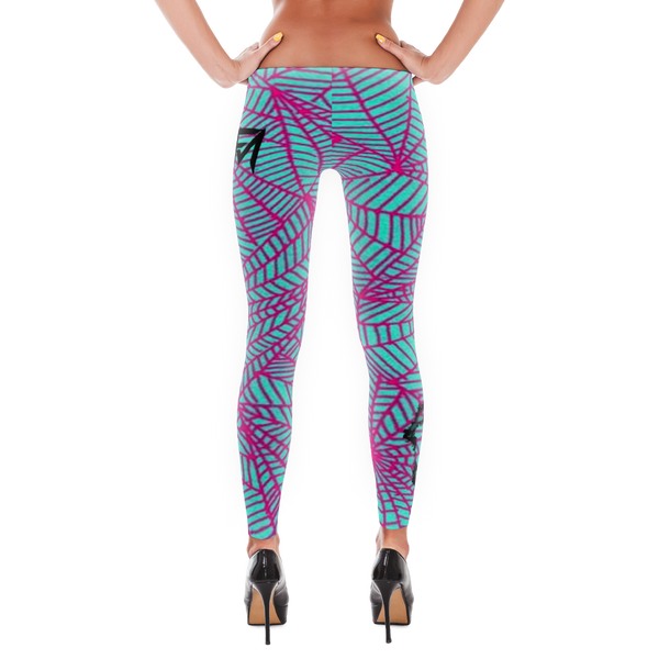 Pink Webb - Leggings