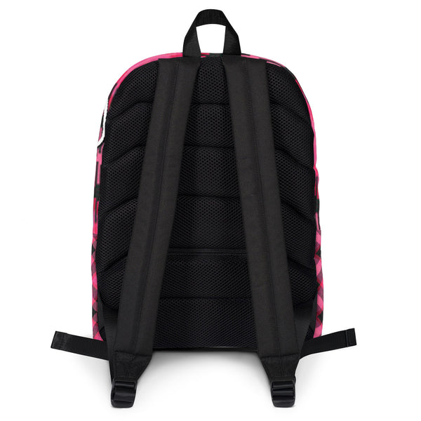 Pink Plain Backpack - ExtraZ