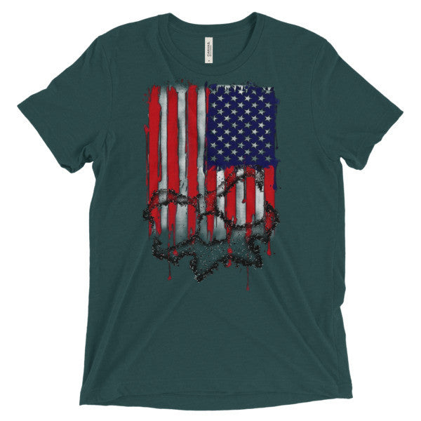 Old Glory- Tri-Blend Guys T