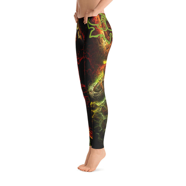 Cosmic Flower - Leggings