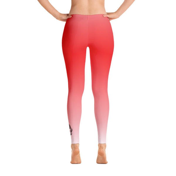 Fade to Red - Leggings