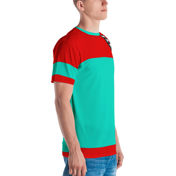 HFM Red Teal - Guys Tee