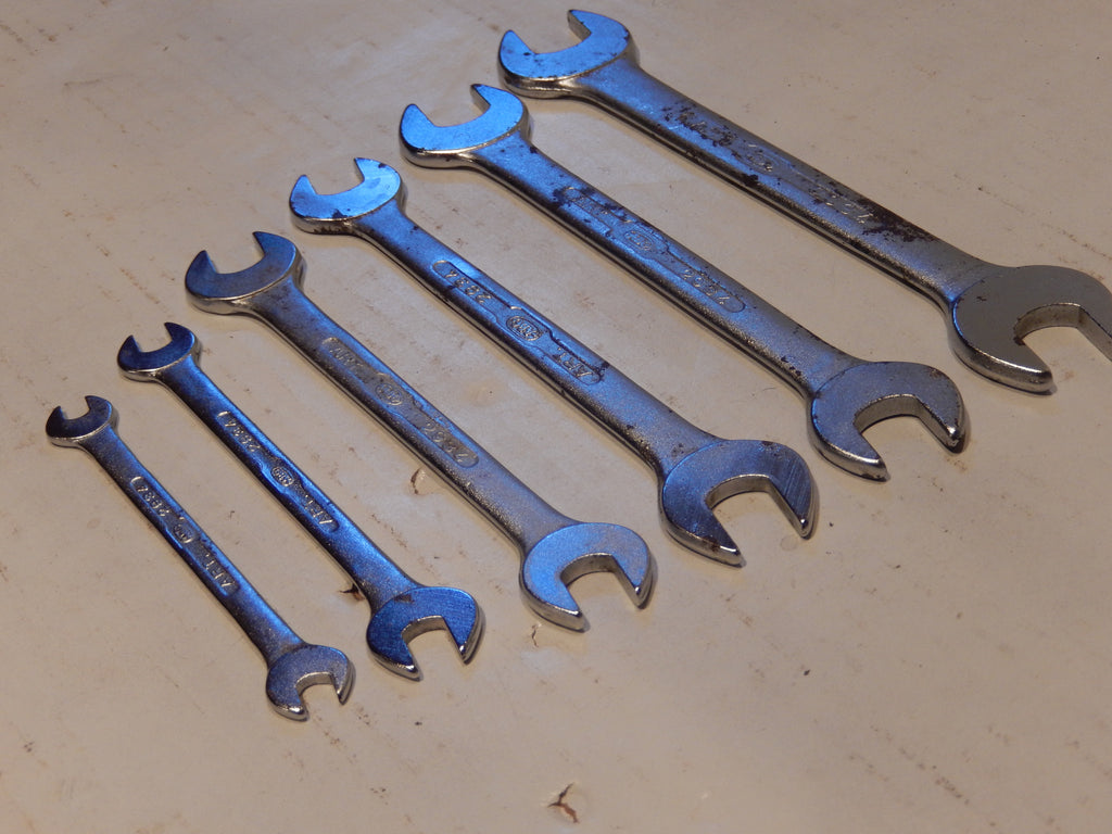 Maserati Tool Kit Chrome Vanadium Wrench Set