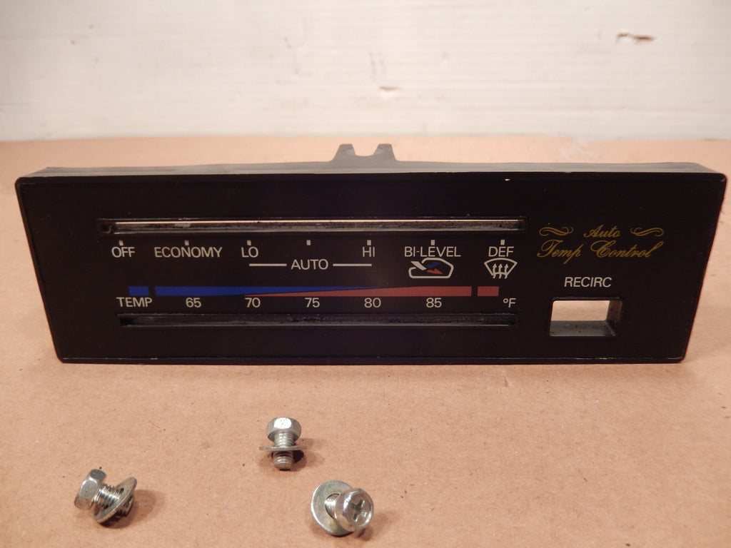 Datsun 280ZX Climate Control Face Panel