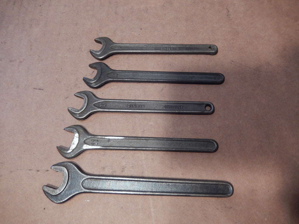Gedore Vanadium Wrench Set