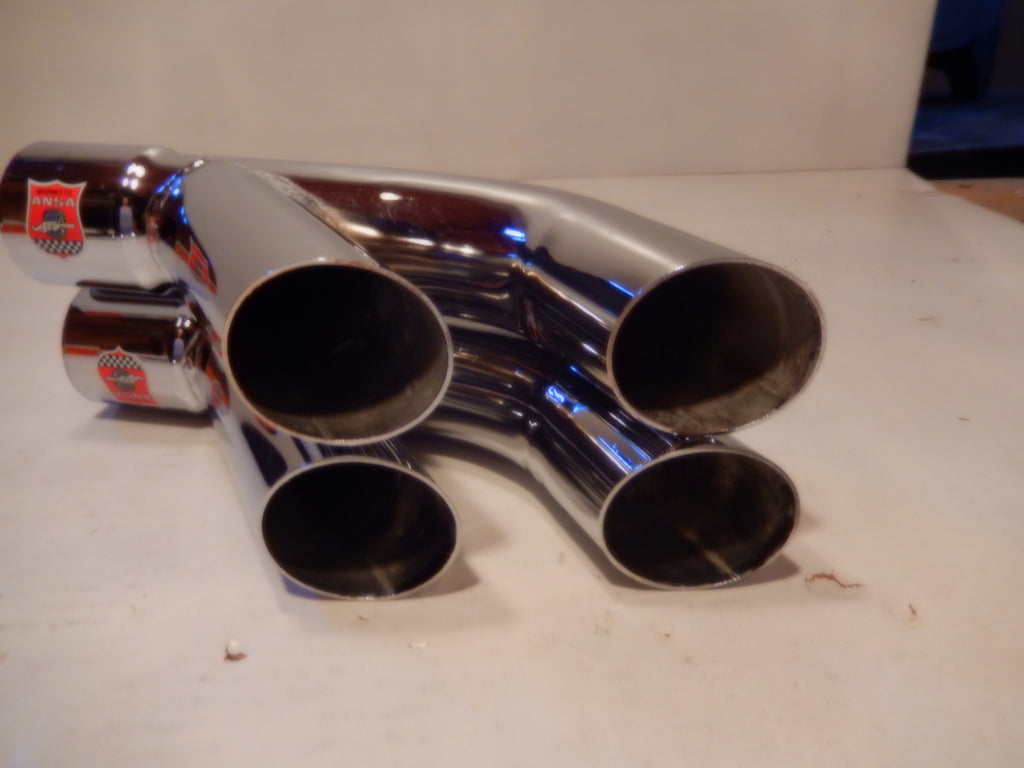 Maserati ANSA OEM Vintage Pair of Twin Side Pipes