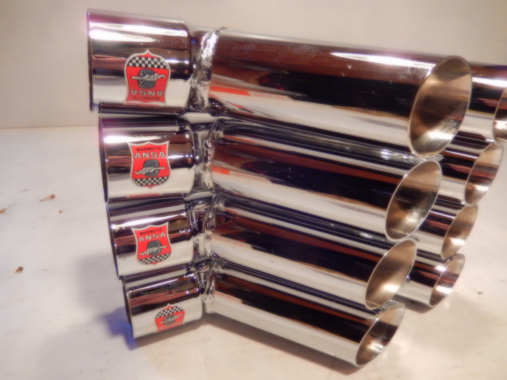 Maserati ANSA OEM Vintage Set Of Four Side Pipe Tips