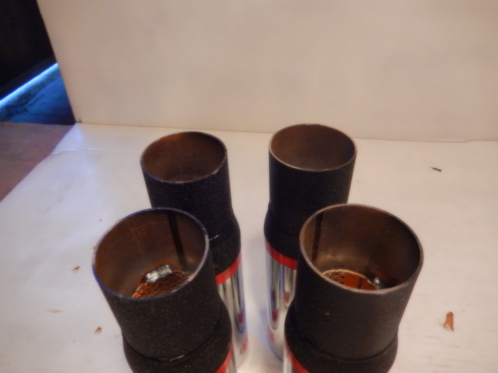 ANSA OEM Vintage Set of Four NOS Exhaust Tips Typo 5729