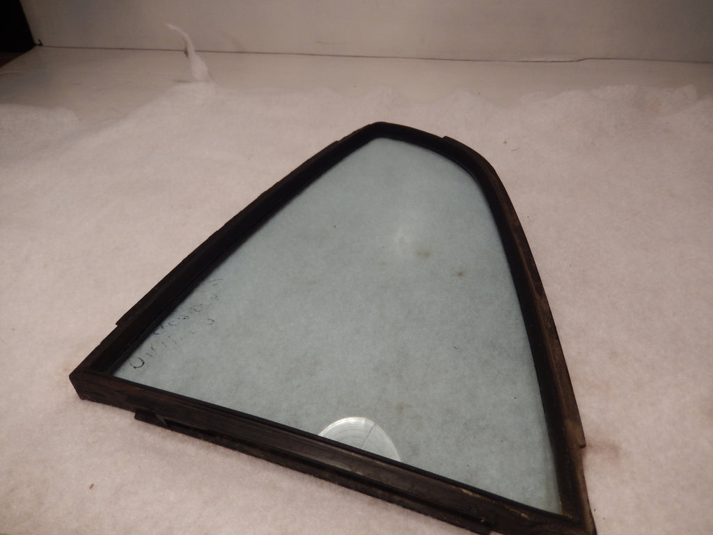 Datsun 240Z OEM Rear Driver Side Quarter Window and Seal