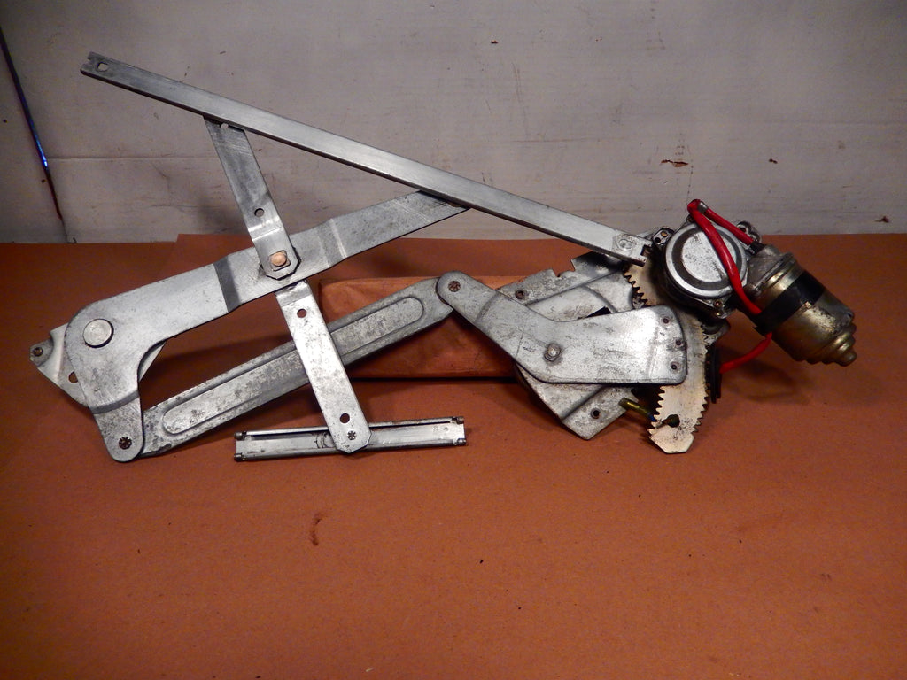 Datsun 280ZX Passenger's Side Door Window Regulator With Motor
