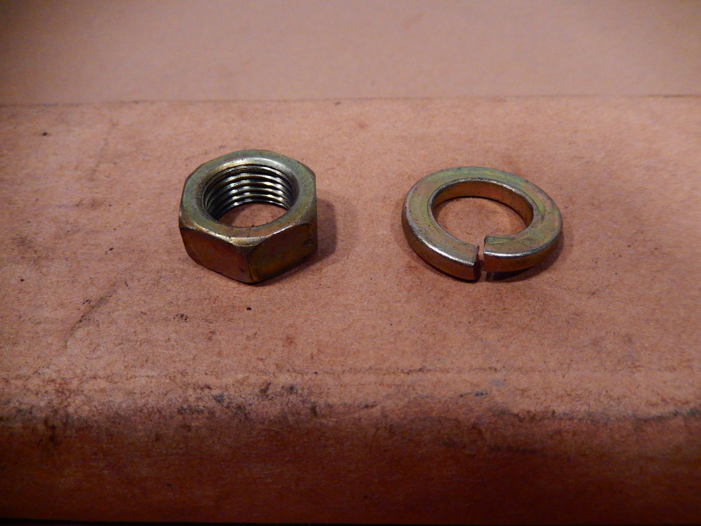 Datsun 280ZX Steering Shaft Wheel Fastener and Washer