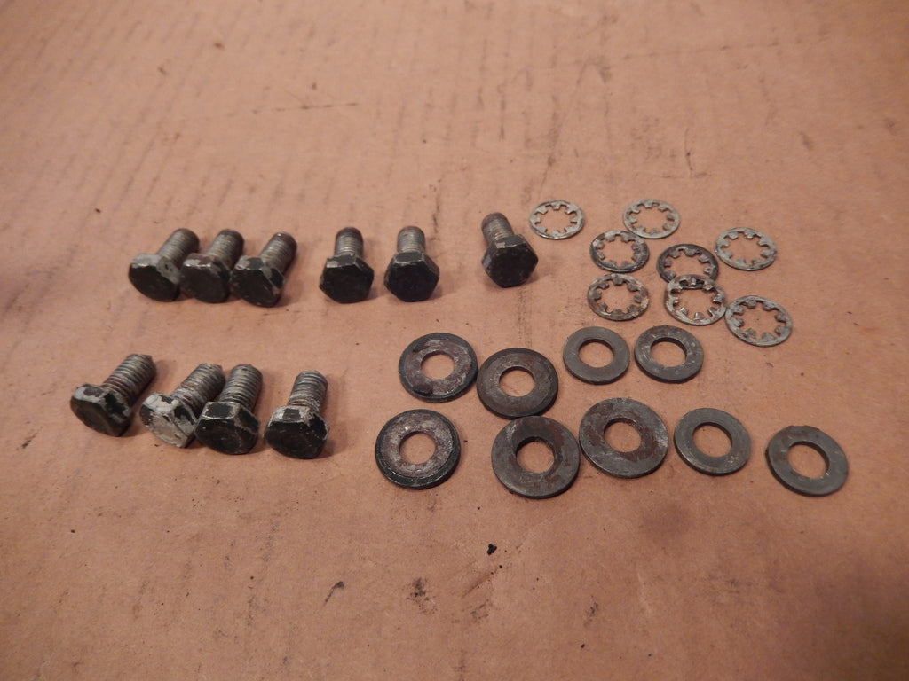 Volvo P1800S Rear Boot Hinge Fasteners Group