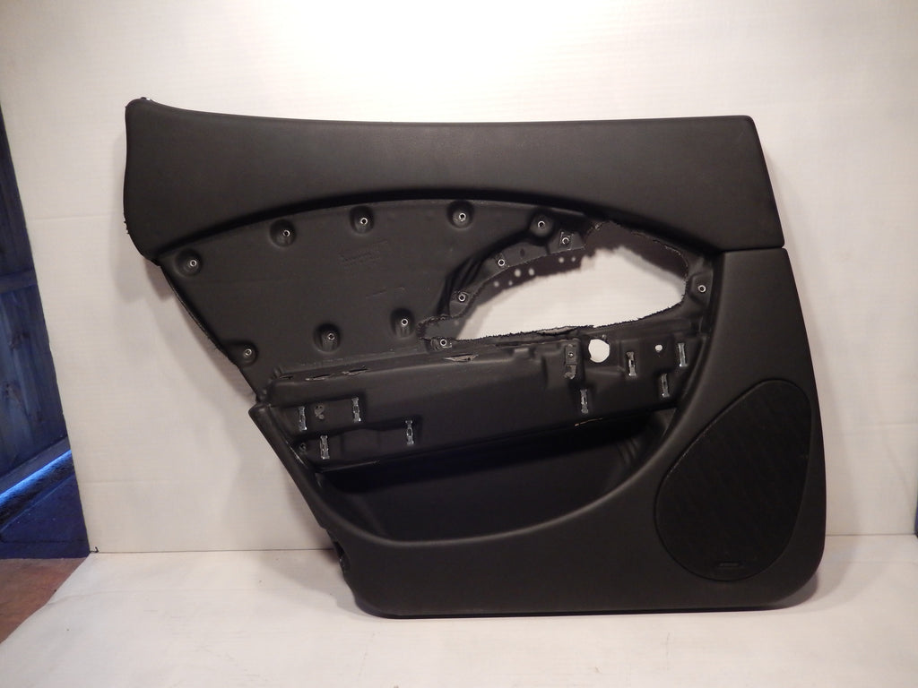 Maserati Quattroporte M-139 OEM Black Rear Drivers Interior Door Panel