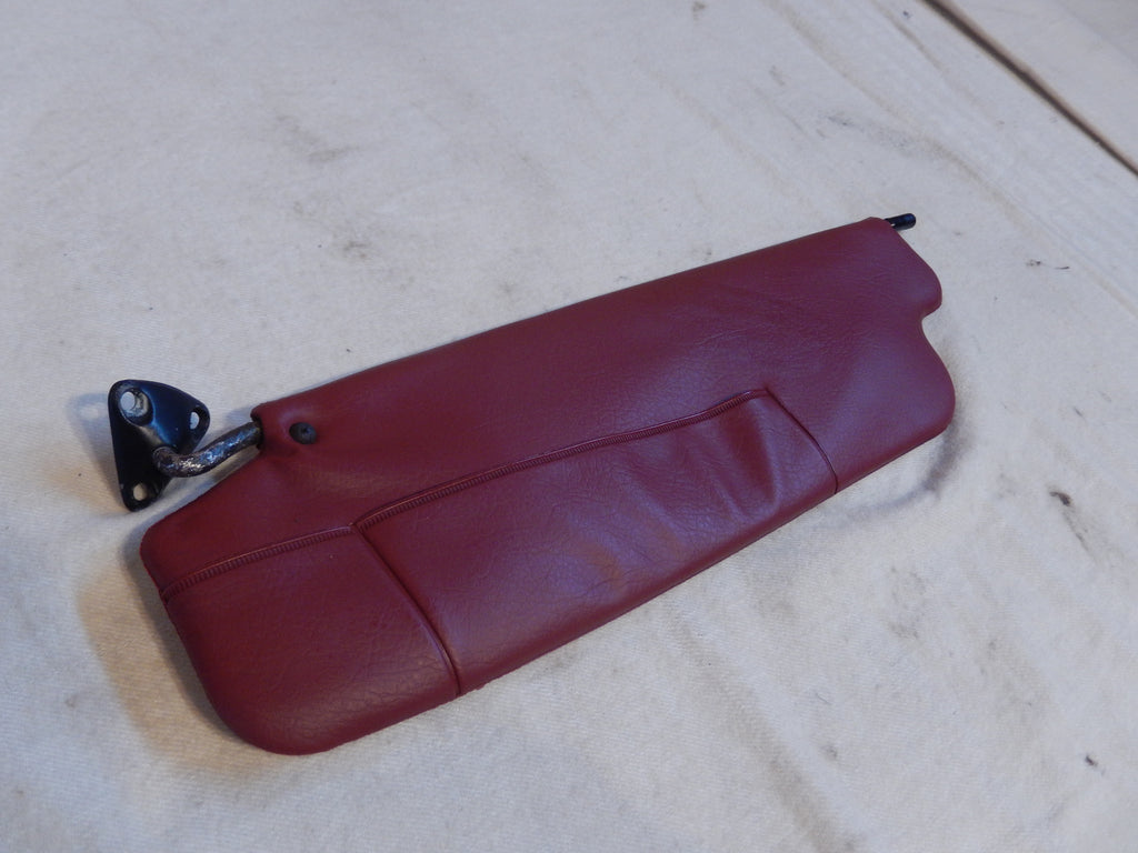 Datsun 240Z OEM Drivers Side RED Sun Visor