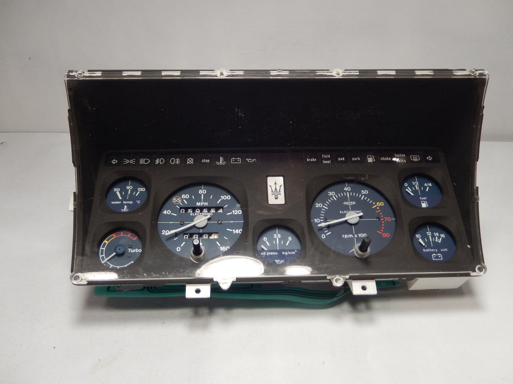 Maserati Biturbo Coupe Instrument Panel
