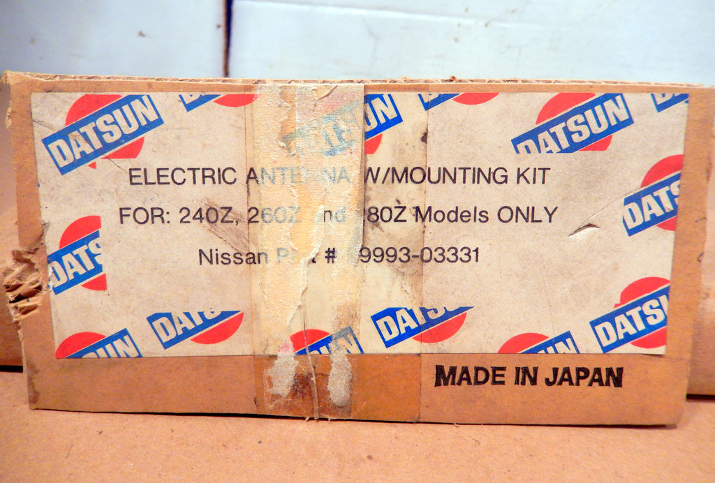Datsun 240Z - 280ZX OEM Antenna Mounting Brackets, Wire Grommet, and Power Connector