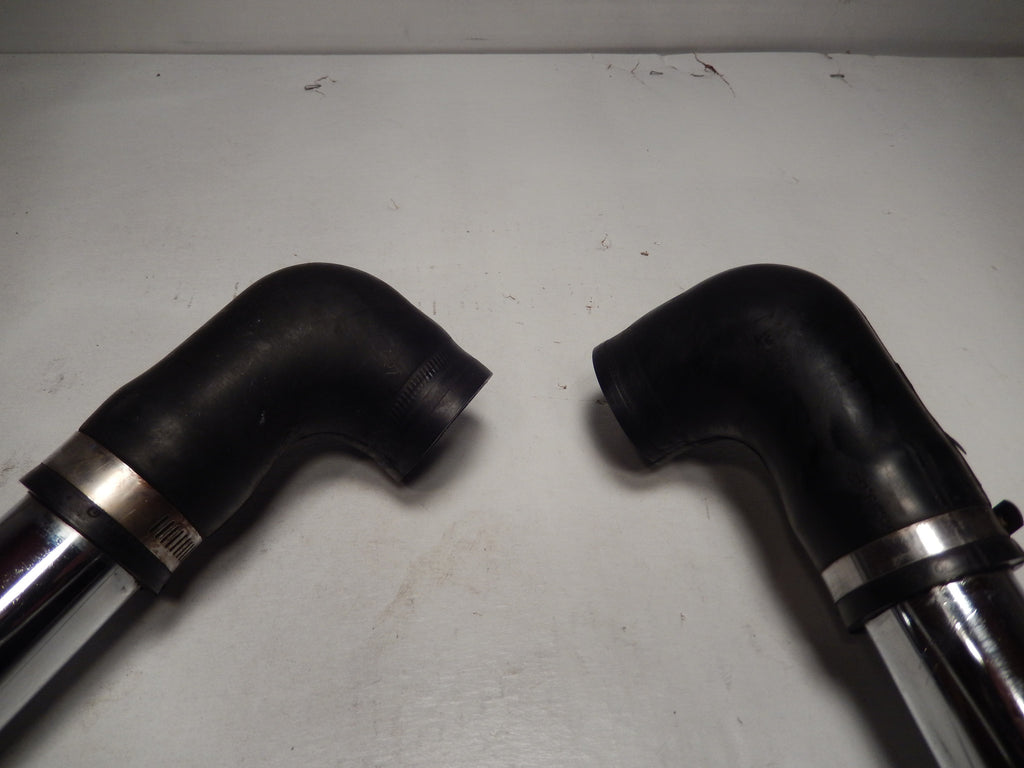 Maserati Biturbo Pair of Chrome Turbo Pipes