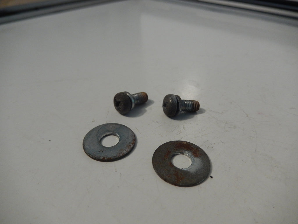 Datsun 240Z OEM Dashboard Frame Toggle Switch / Lighter Bracket Fasteners