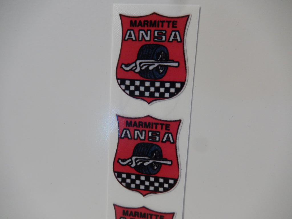 ANSA OEM Type Set of Four Tip Stickers