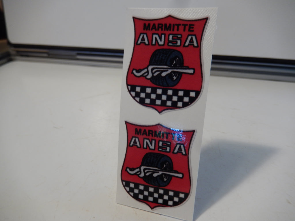 ANSA OEM Type Pair of The Large Tip Sticker